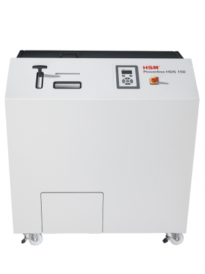 HSM HDS 150-2 Hard Drive & Multimedia Shredder