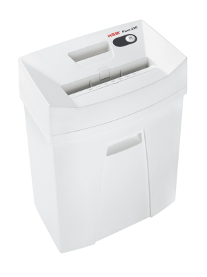 HSM Pure 220 Strip-Cut Shredder