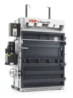 HSM V-Press 820 Plus Vertical Baler Press